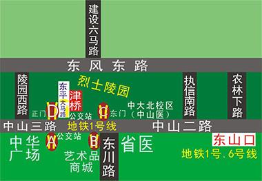 津桥外语位置_津桥外语校区分布_来校路线