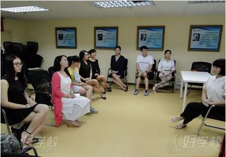 深圳卡耐基教育广州总部上课情景